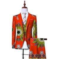 (Jacket+Vest+Pants)Blazers for Men 3 Piece Slim Fit Cowboy Wedding Men Suit Retro Gentleman Mens African Clothing 6XL WYN230