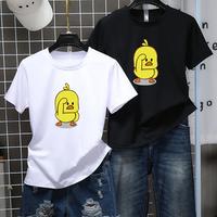 Wholesale   T-Shirt Women 2019 Summer Casual Short Sleeve Punk white t-shirt