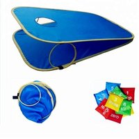 Field Sport Game Cornhole Toss Set,  Portable  Indoor / Outdoor bean bag toss game  with 8 sand bag 2 cornhole board