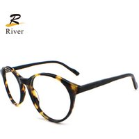H5034 Fashion man woman ready blue light blocking acetate optical eyeglasses frames for eyewear glasses