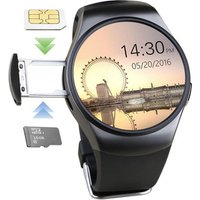 High quality KW18 android make call 3g smart watch phone
