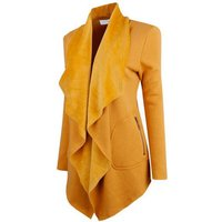 Blazer Women Suit Long Sleeved Lapel Casual Slim Yards Ladies Blazers Work Wear Jacket Y10542