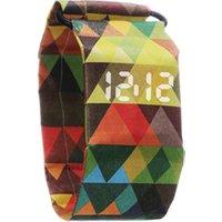 Custom Boy Girl kids Paper Strap Digital Wrist Watch Tyvek Waterproof LED Paper Watch for Men Women