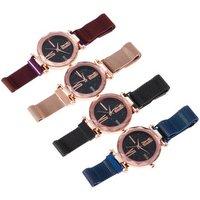 2019 Luxury Ladies Watch Women Bracelet Watches Magnetic Mesh Fashion Casual Female Waterproof dress Clock Reloj