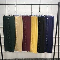 wholesale color pencil long skirt for women