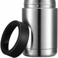 Double Wall Vacuum 18/8 Stainless Steel Can Insulated Beverage Holder,12oz Stainless Steel Can Cooler and Beer Bottle Insulator