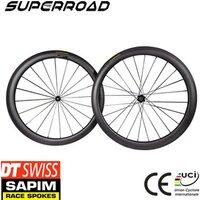 DT 350 Hub Sapim Cx-Ray U Shape 38mm/50mm Wheelset Chinese Cycling 700C Road Bike Carbon Fiber Bicycle Clincher Wheel Set