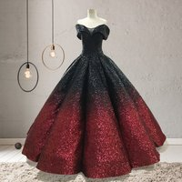 Quinceanera Dresses Ball Gown Off Shoulder Amazing Sequins Shinny wedding dresses party evening dress