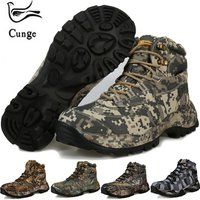 Men Hiking Shoes Waterproof Trekking Boots Breathable Sports Climbing hiking boots Outdoor Walking Sneakers hunting fishing boot
