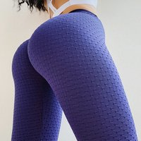 2019 womens high waisted stretch booty scrunch ladies gym yoga pants