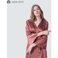OEM China Sexy Elegant Women Clothing Satin Wrap Dress Ladies Silk Dress