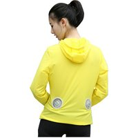 Super Light Anti UV Fan cooling clothing summer air conditioning jacket