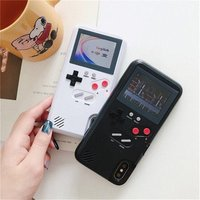 2019 New game console phone cover Full color display Game box chargeable smartphone  case for iphone x 6s 7 8 plus for iphone x