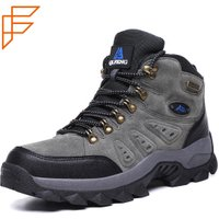 Topsion China Goods Wholesale Quality Design Online Waterproof Men Hiking Shoes