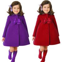 Fashion designer children clothing baby wear winter cotton clothes warm dress coat XZ3003
