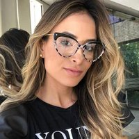 M709 New Brand Ladies Soft Feel Tr90 Eyeglass Frames Fashion Optical Glasses Can Custom Reading