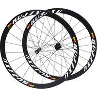 RUJIXU ultra light 700C road bike wheelset broken wind sealed bearing wheel set V brake 40mm rim bicycle wheels 120 ring