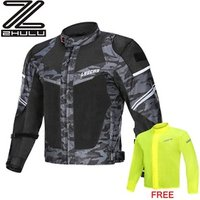 Fashion breathable Summer mesh Motorcycle jacket motorbike Textile suit