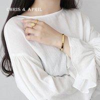 18K gold wide cuff bangle women bracelets