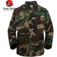 Xinxing Woodland Camouflage Military Army Winter Jacket M65 Jacket CF02