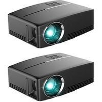 Multimedia WiFi Android Bluetooth 3D LED Portable Digital HD Home Theater Projector