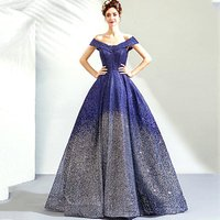 2019 China pop line formal gown luxurious evening dresses