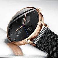 China fashion luxury watch  movement brands custom watch logo quartz boys man wrist watch