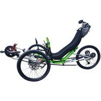 Free Shipping Old People Full Folding 20 speed 3 Wheel Tadpole Recumbent Trike Cycle Lay Down Bike Sale