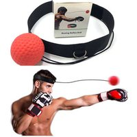 'Indoor Gym Fitness Product Equipment Boxing Head Ball Elastic Headband Speed Punching Training Head Band Boxing Reflex Ball