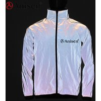 2019 3m Latest reflective sportswear lightweight running waterproof softshell cycling custom riding high visible jacket for men
