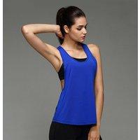 Ladies womens gym bodybuilding crop yoga Tank Top shirt