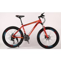 Factory sells high quality 26-inch bicycle front and rear disc brakes 24 - speed downhill Alloy frame mountain bikes