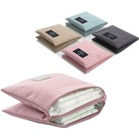 Korean cotton foldable sanitary napkin storage bag
