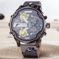 2019 New Design watch men brand clock OEM luxury bracelet leather watch men wrist Factory price fashion mens watch