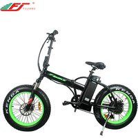 High power 48v 500w folding e bike electric bicycle with 20 fat tire