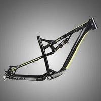 New 2018 Full Suspension Aluminum Mountain Bike Frame 27.5 for Down Hill