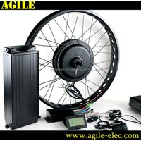Agile fat tire e bike 1000w electric bike conversion kit for bicycle