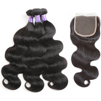 50% Discount  Free Sample Wholesale Factory 3 Bundles and Closure 100% Remy Human Hair Extension Raw Cuticle Aligned Hair Bundles