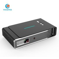 WESOPRO Home Theater Projector 4K 3D Cinema 1080P HD AV Video Projector Android OS WiFi Smart DLP LED High Lumens Projector