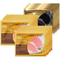 'Crystal Collagen Gold Powder Eye Mask Sheet Patch, Anti Aging, Remove Bags, Dark Circles & Puffiness