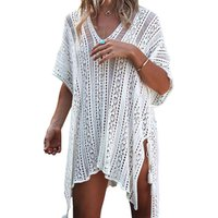 2019 New Arrival Crochet Cover Up Beach Dress