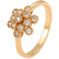 15304 xuping chinese supplier pretty beautiful sunflower finger ring in 18k gold plating jewelry