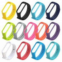 Replacement Silicone Wrist Strap Watch Band For XiaoMi MI Band 3 Smart Bracelet new