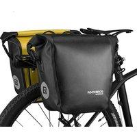 ROCKBROS Waterproof Large Bicycle Bag 18L Portable Bike Bag Pannier Rear Rack Tail Seat Trunk Pack Cycling MTB Road Bike Bag