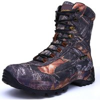 2019 hiking shoes Mens Camouflage Shoes Outdoor Waterproof hunting boots hiking with factory prices waterproof hiking boots