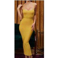 Sexy Women Celebrity Evening Club Party Fashion Bodycon Rayon Bandage Party Dress