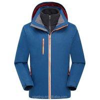 men clothing 2017 waterproof reflect light zipper parachute winter jacket