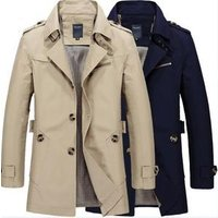 m-5x Clothing Manufacturers Overseas Mens Cotton Trench Coat