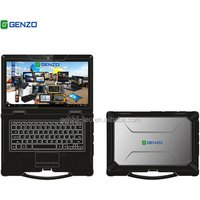 2 Year warranty 14 inch Fully industrial rugged sunlight readable military laptop computer