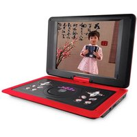 'Tnt268 13.3 Inch Portable Dvd With Led Screen With Tv Tuner/card Reader/usb/game Pdvd Mp3 Video Home Dvd Player